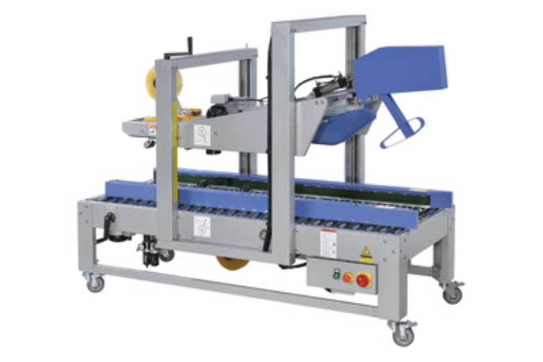 Automatic Carton Sealing Machine Self Adjustment Auto Flap Closing type
