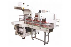 Automatic Sleeve Wrapper - Web Sealer with Shrink Tunnel - for Bottles Cans