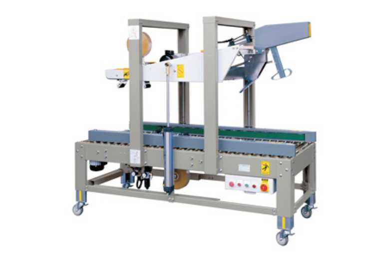 Fully Automatic Carton Sealing Machine Auto Flap Closing