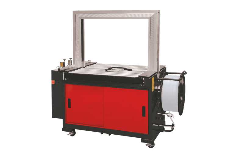 Fully Automatic Strapping Machine with Power Roller Table