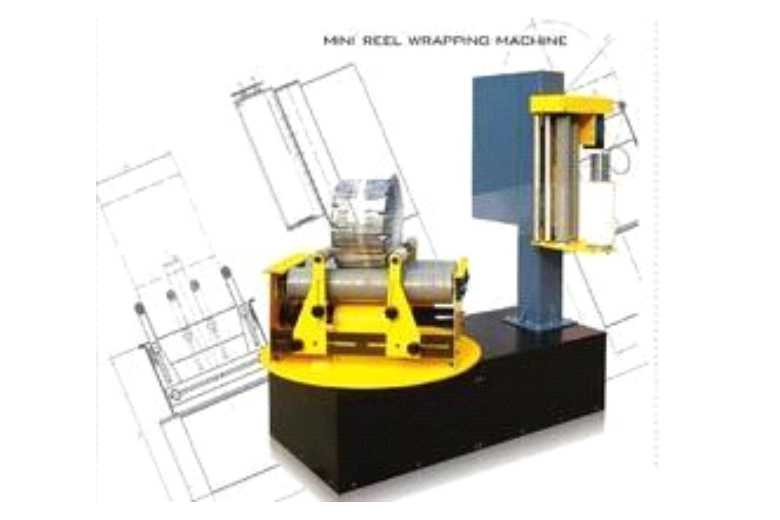 Reel Wrapper Machine