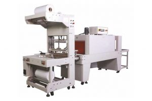 Semi Automatic Sleeve Wrapper - Web Sealer with Shrink Tunnel