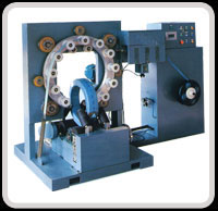 Stretch Wrapping Machine W Series Ring Wrapping