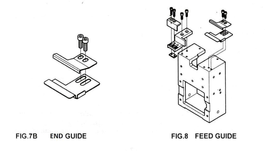 strapping machine strap guide